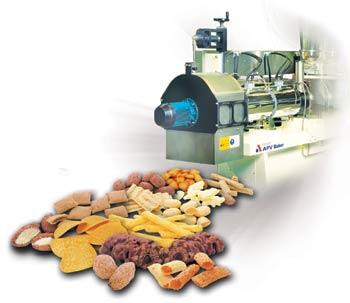 اکسترودرها و کاربرد آنها در صنایع غذایی