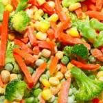 روش های انجماد سبزیجات