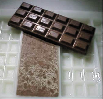 علت بلوم زدن یا همان سفیدک روی شکلاتها