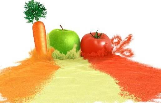 فرآیند تولید پودر میوه