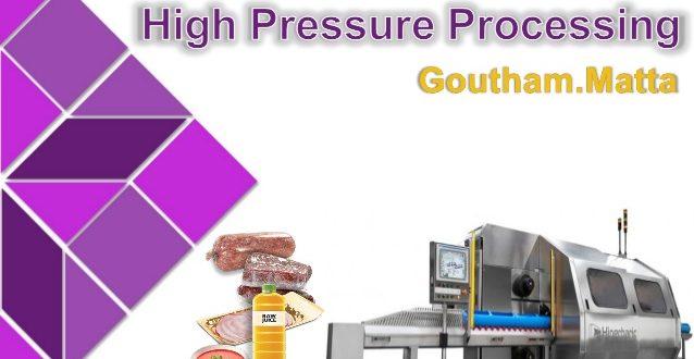 فرآیند فشار بالا در صنایع غذایی